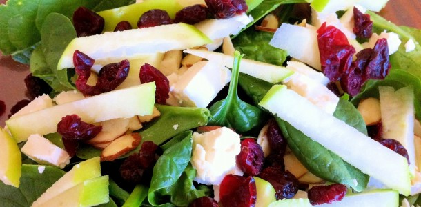 ... spinach chicken and fruit salad spinach salad img 1925 jpg almonds and