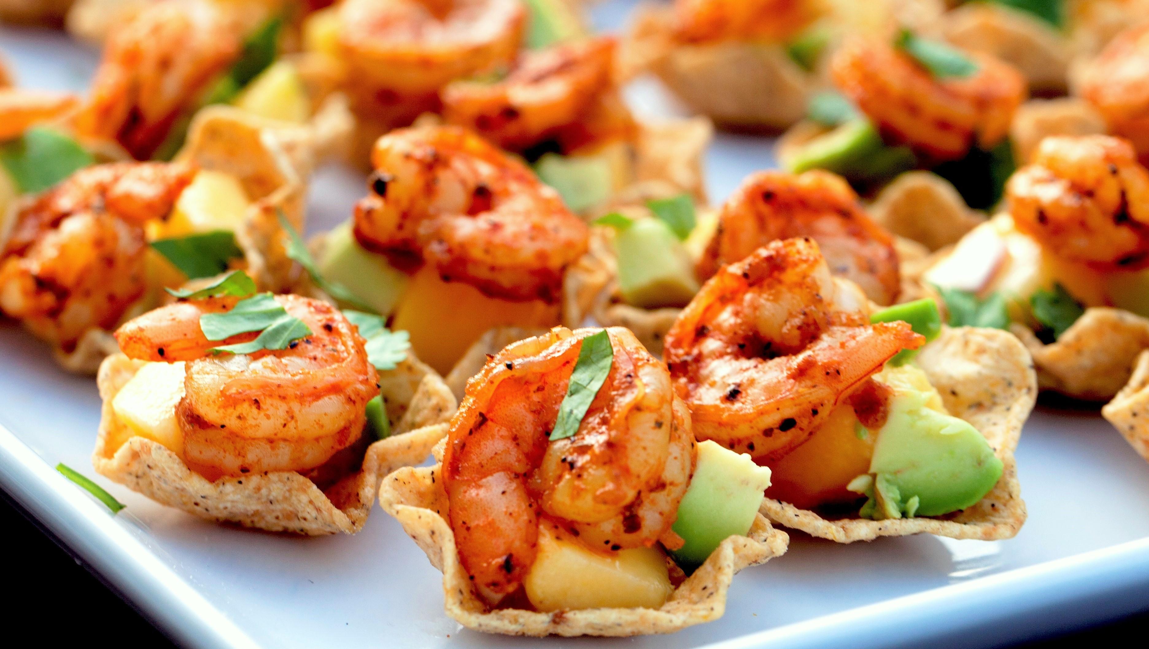 Mini shrimp tacos easy peasy eats