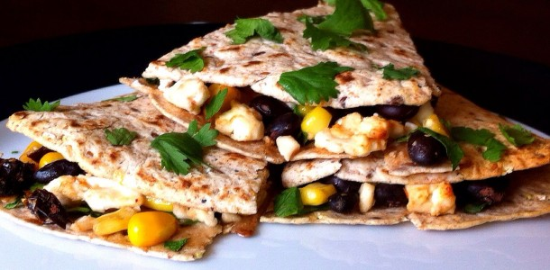 Black Bean And Goat Cheese Quesadillas Recipes — Dishmaps
