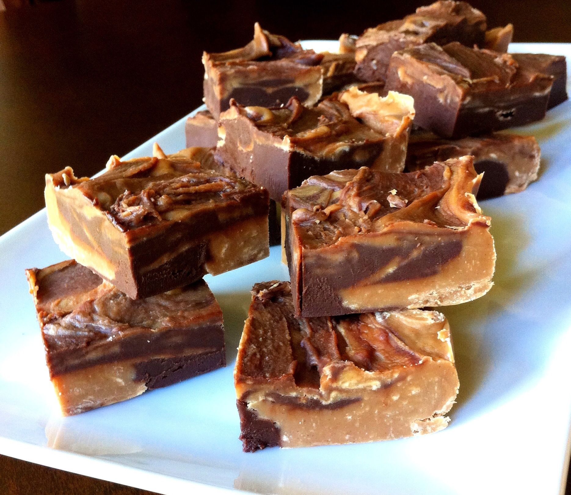 Chocolate Peanut Butter Fudge Recipe — Dishmaps