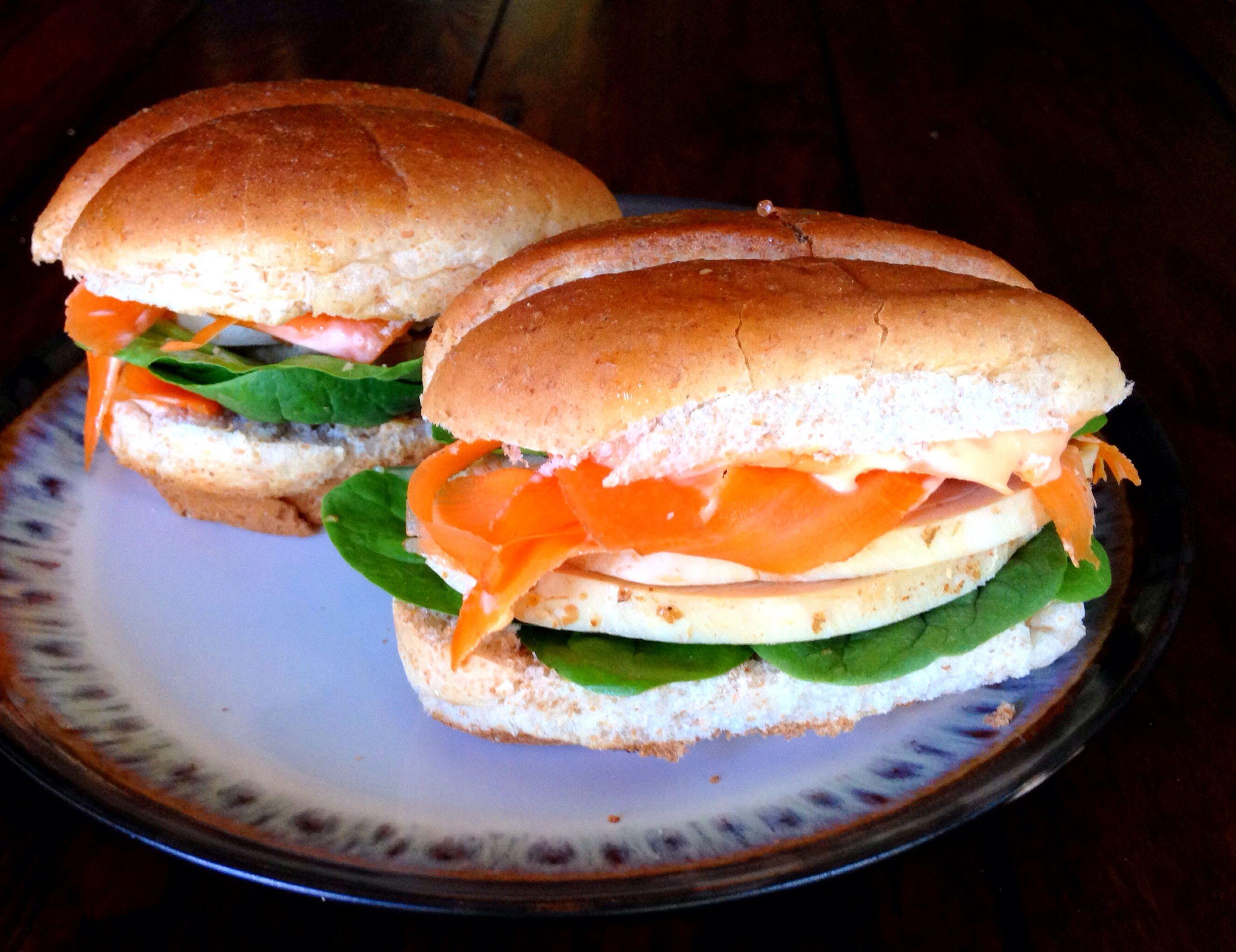 Vietnamese Style Sandwich
