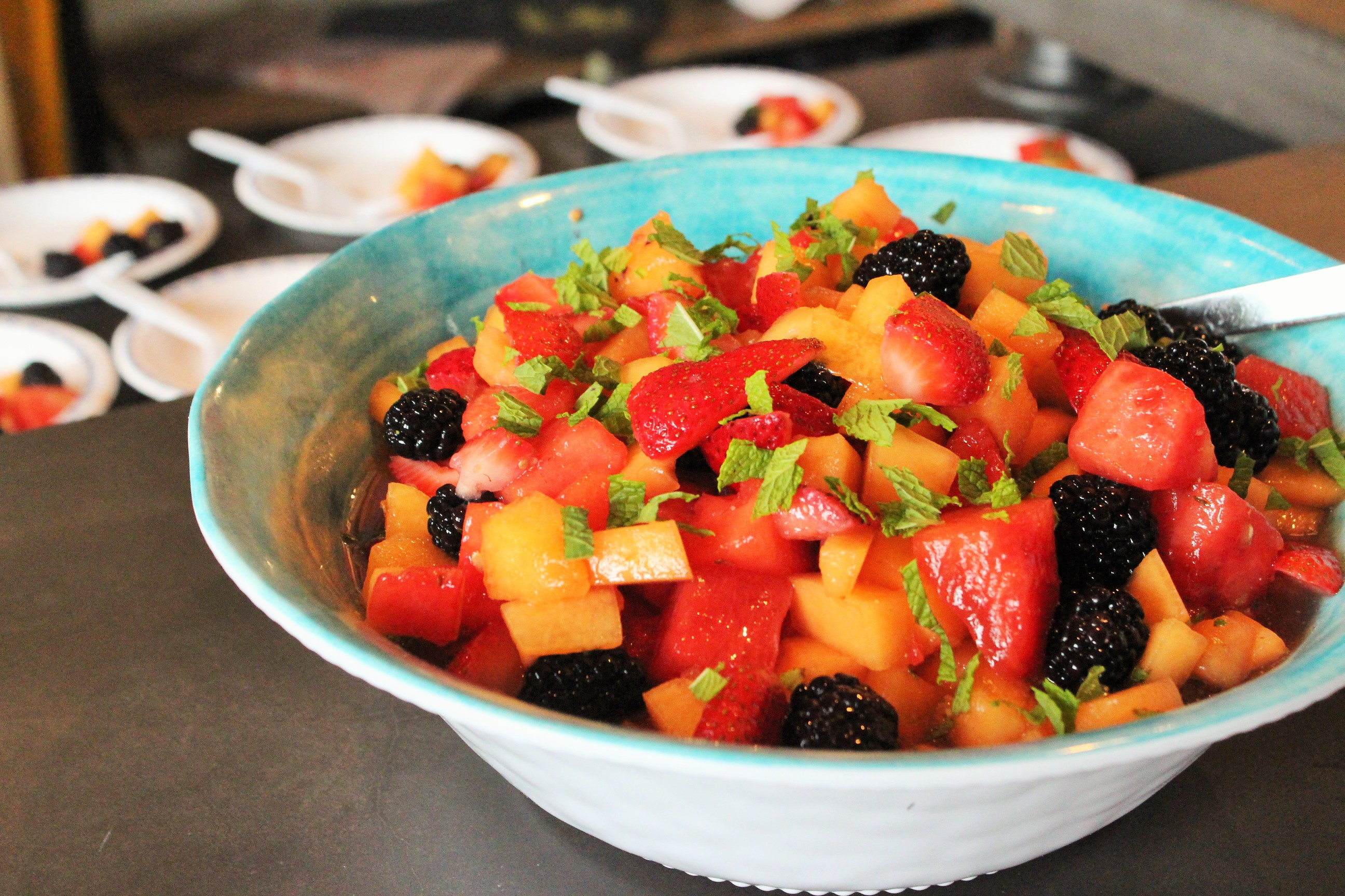 Honey Bourbon Fruit Salad