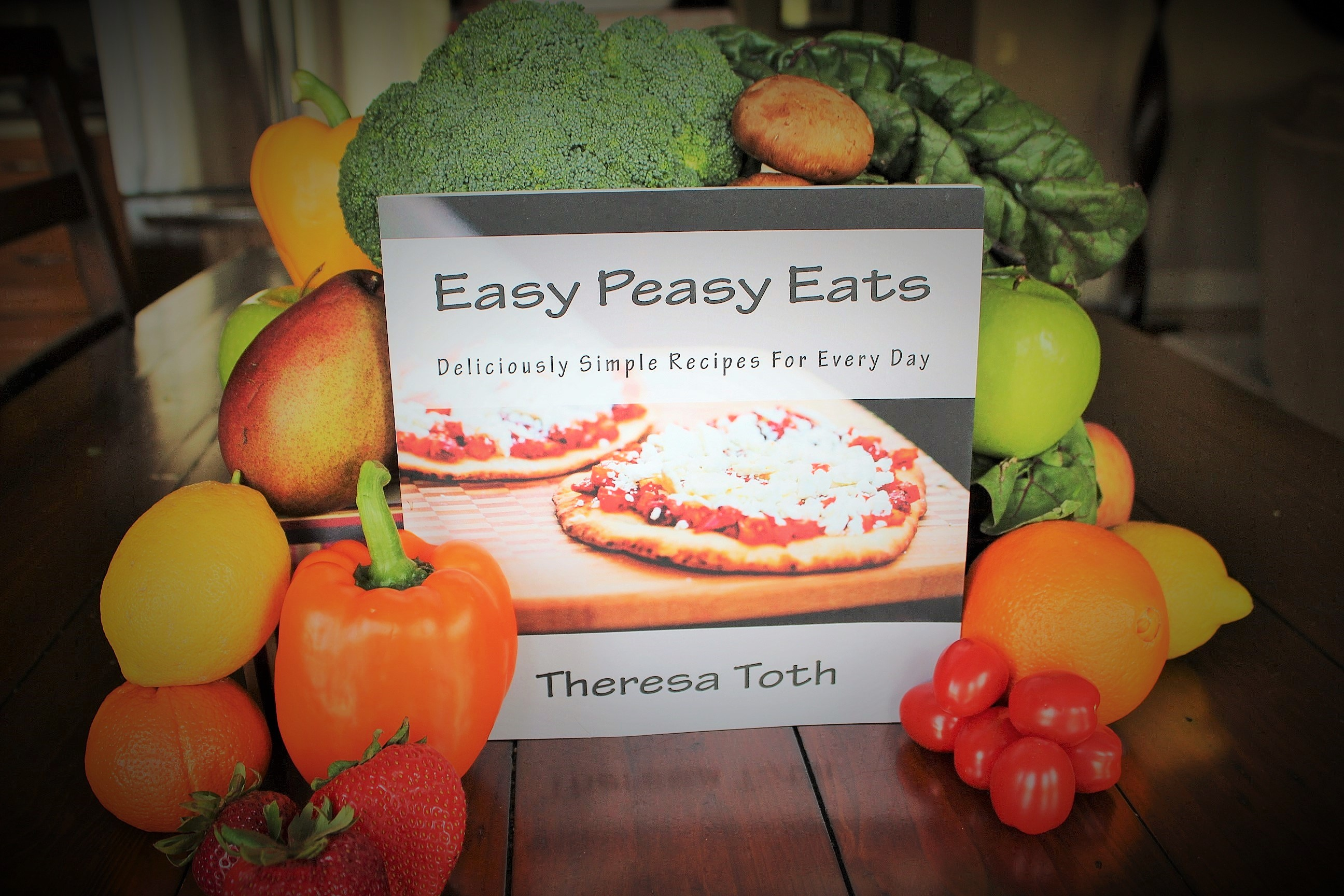 Get your copy of The Easy Peasy Eats Cookbook
