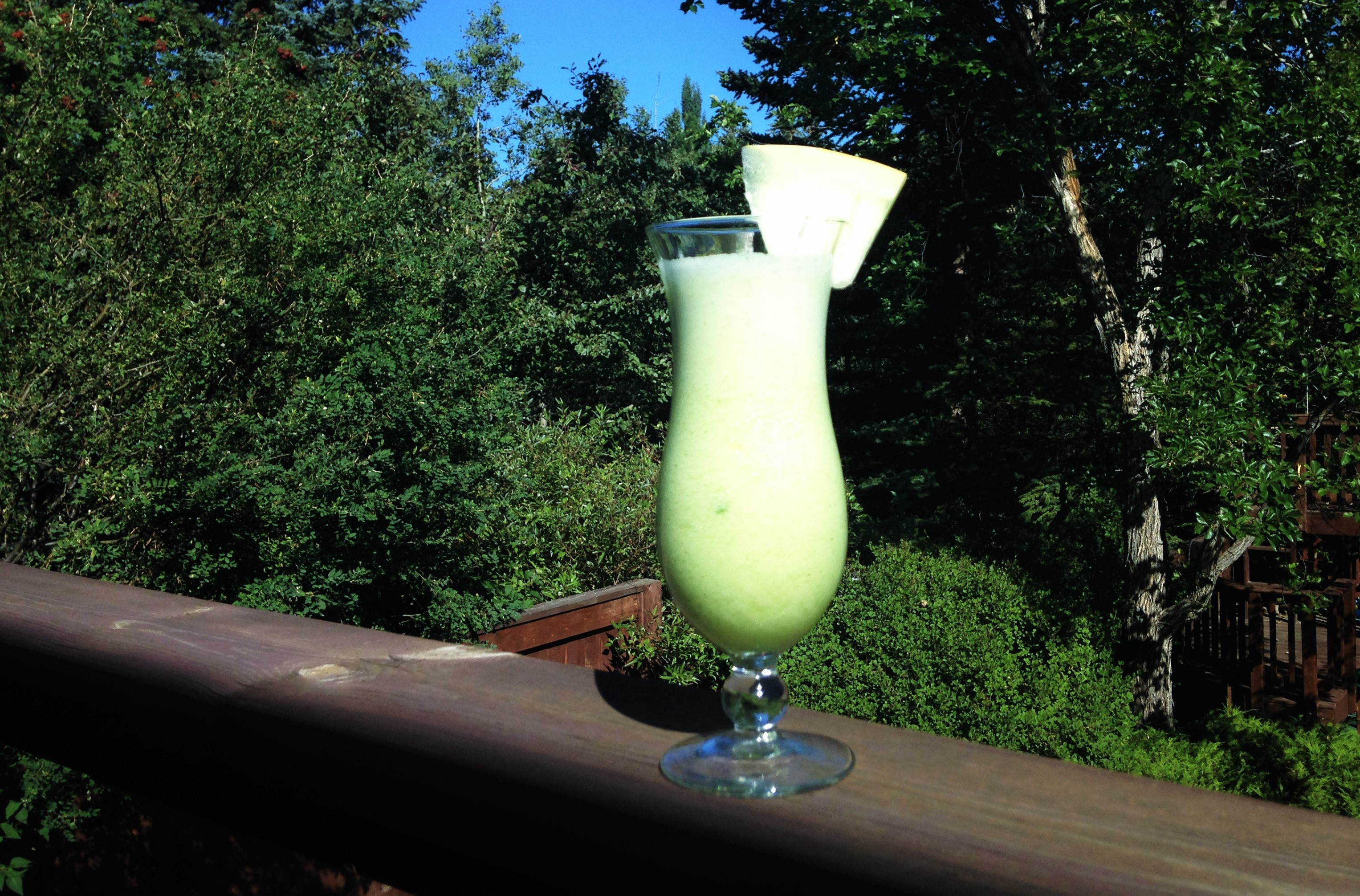 Refreshing Honeydew Smoothie