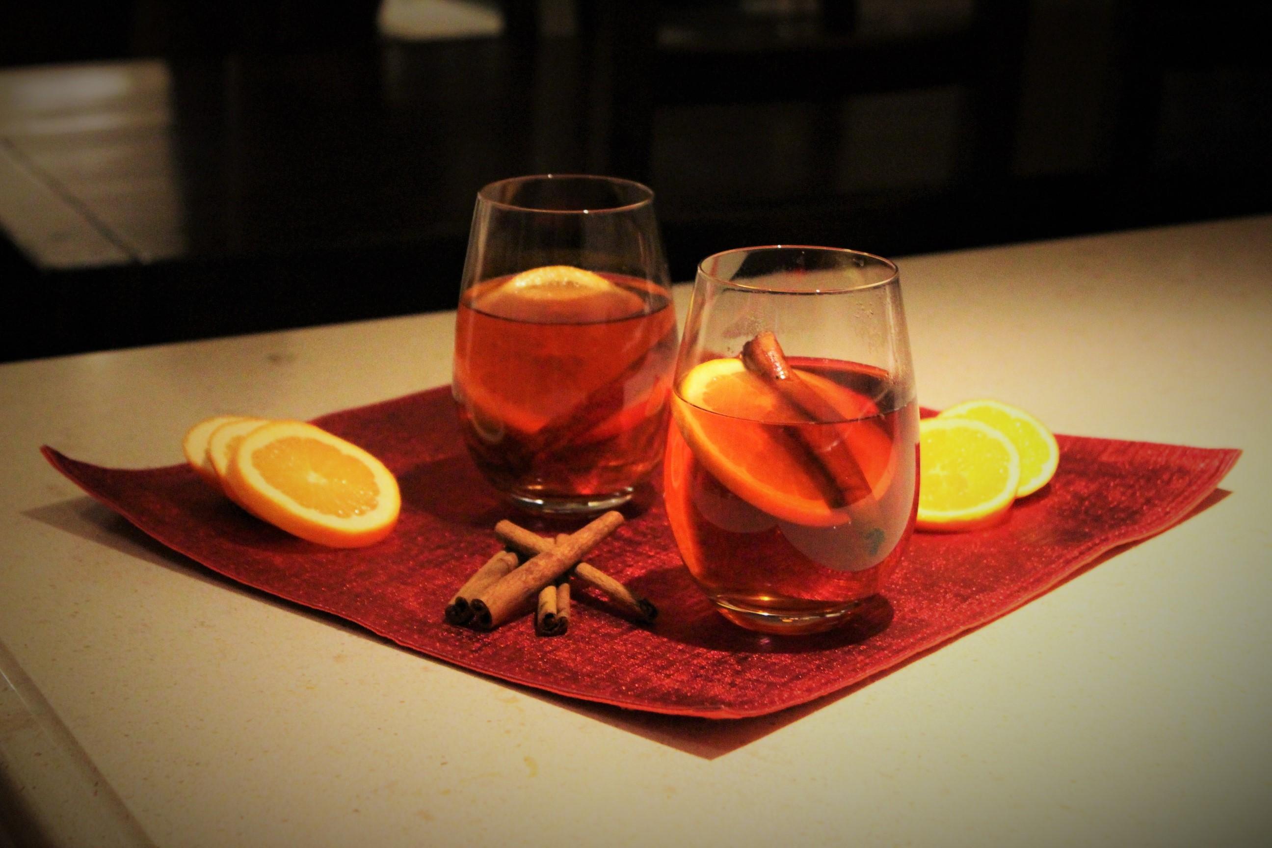 Spiced Blueberry Tea