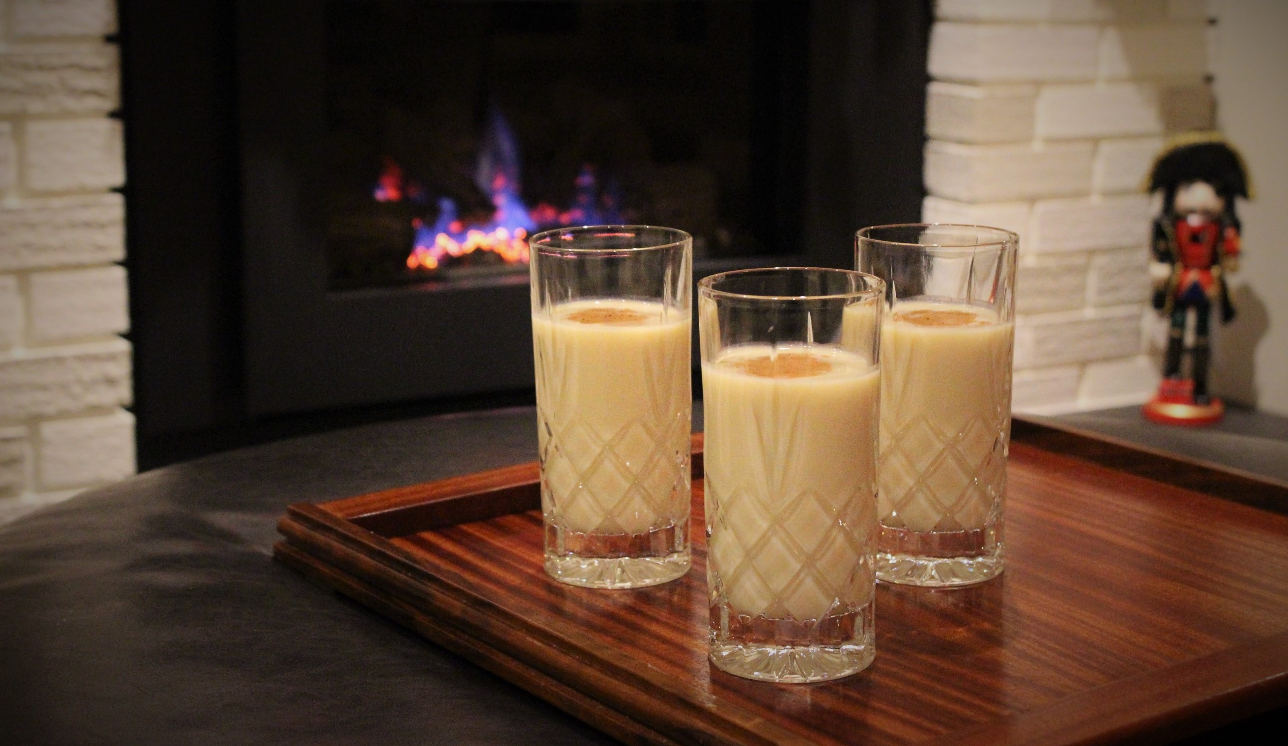 Fat Free Eggless Eggnog