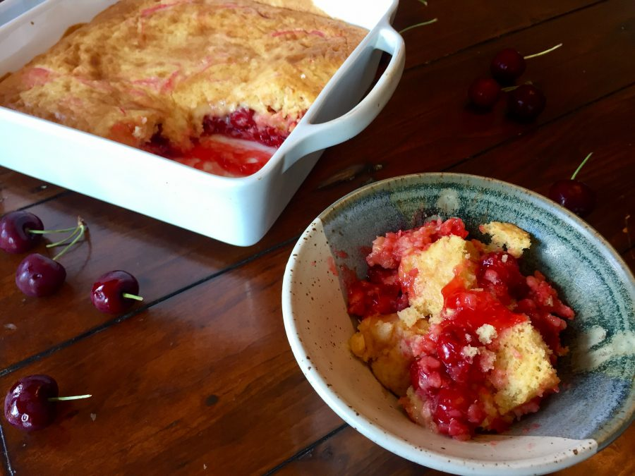 Campfire Cobbler with Quinoa