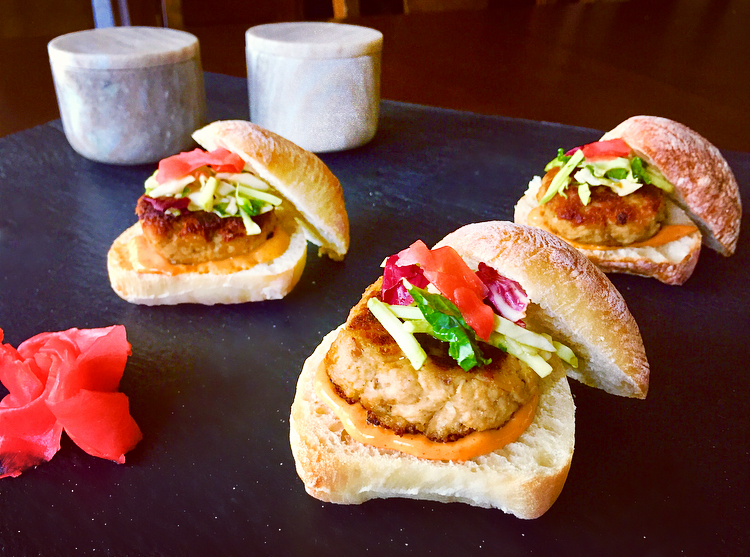Asian Tuna Sliders