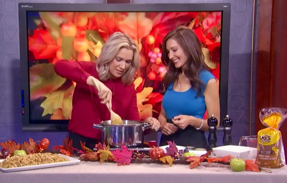 Thanksgiving Stuffing on CTV Morning Live